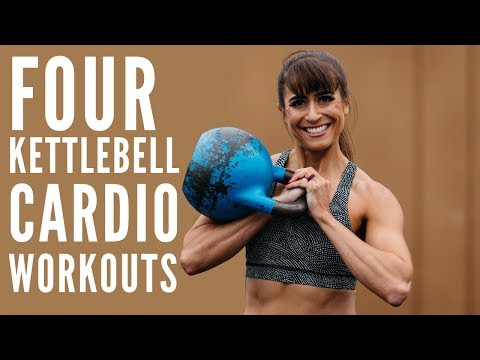 4 Kettlebell Cardio Exercises