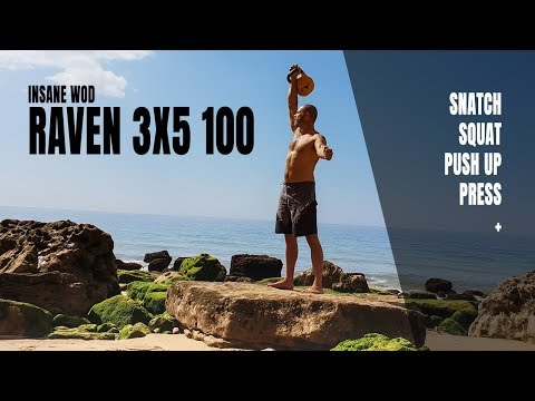 Raven 3×5 100—A irritating kettlebell workout