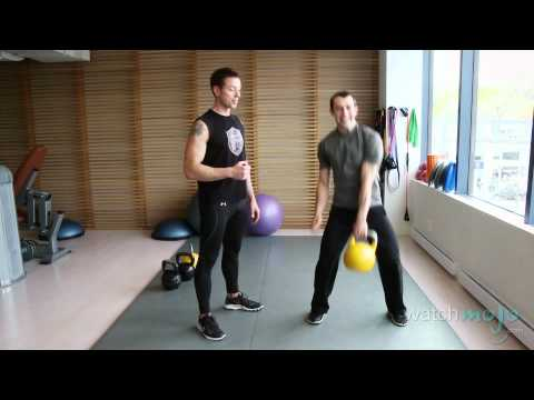Demonstration of General Kettlebell Exercises