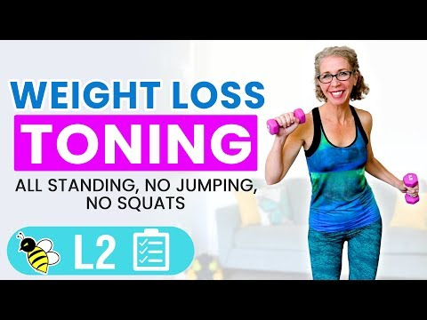 20 Minute LOW IMPACT Weight Loss Cardio Firming Workout for Ladies over 50