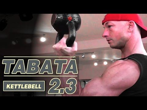 TABATA 2.3 | KETTLEBELL | FAST FAT/WEIGHT LOSS  | FITNESS COMPLEX | 4 MINUTES | HIIT WORKOUT