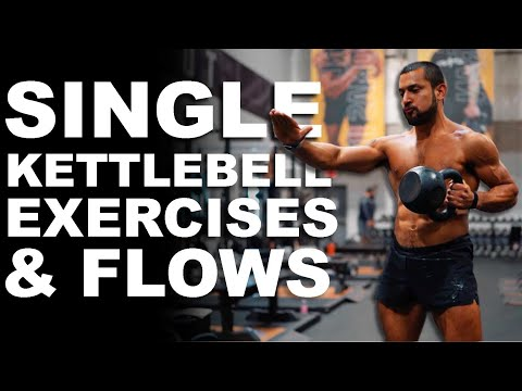 Single Kettlebell Workout routines & Complicated Flows | Eric Leija