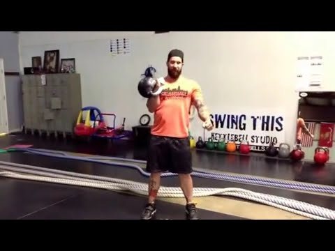 Building Muscle with Kettlebell Strict Press, Push Press and Jerk