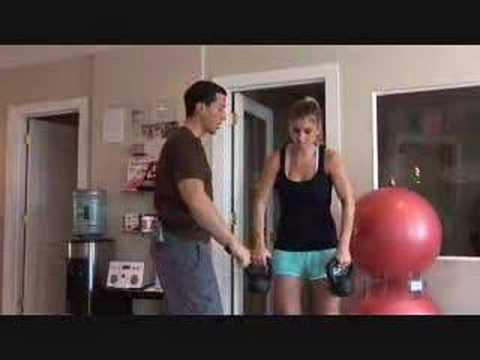 Weight Loss Kettlebell Exercise Video