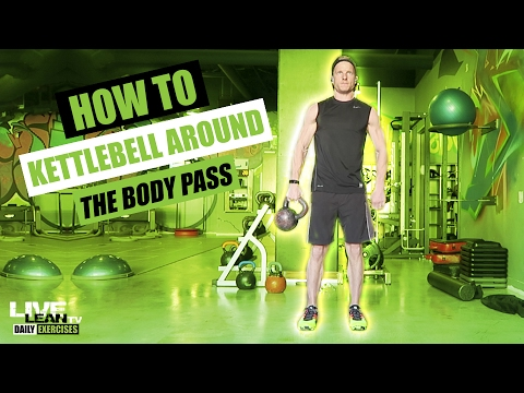 How To Cease A KETTLEBELL AROUND THE BODY PASS | Exercise Demonstration Video and Info