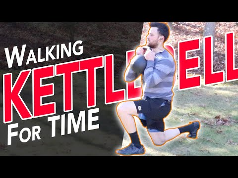 Test your Conditioning with this Dynamic KETTLEBELL CORE Advanced