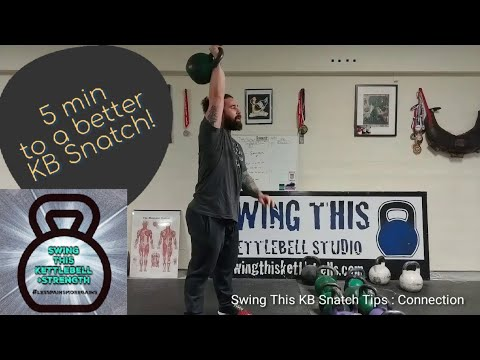BETTER Kettlebell Snatch Invent in 5 minutes : The Share Many of You are Missing