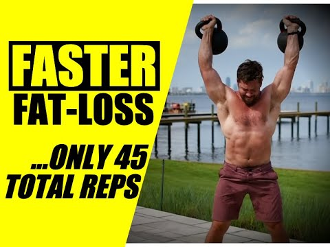 45-Earn Kettlebell Cardio Routine [H.I.I.T. Fat-Loss] | Chandler Marchman
