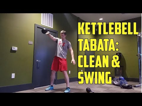 Kettlebell Tabata Workout: Swings & Cleans