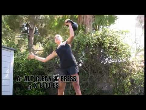 Kettlebell Energy Workout for Ladies with Lauren Brooks