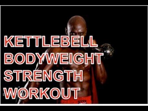 Kettlebell Body weight Hybrid Energy Exercise
