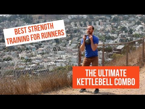 Simplest Energy Training for Runners | Kettlebell Combo