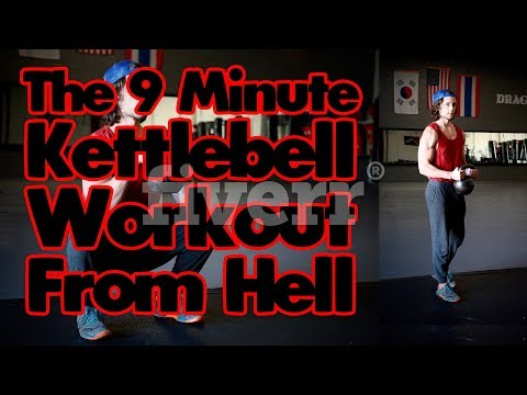 The 9 Minute Kettlebell Workout From Hell!