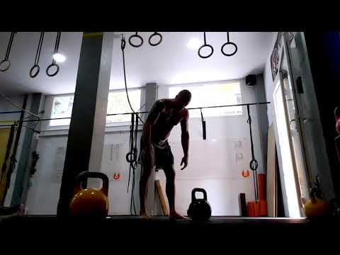 (Free video) Joe Rogan kettlebell swing russian swing double arm swing