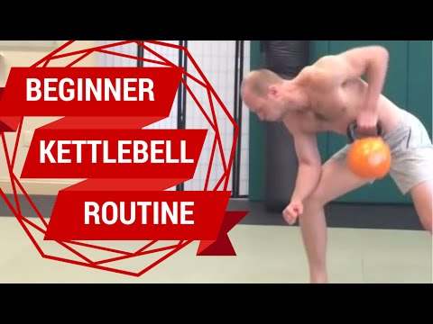 One Kettlebell Workout for Learners