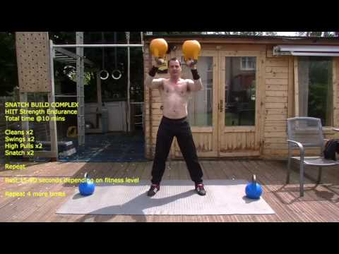 10 Minute Kettlebell Advanced Exercise Video – Rotund Loss, Strength, persistence, Cardio & Energy