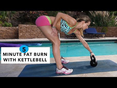 5 Minute Fat Burning Exercise #Seventy nine – Kettlebell Swing