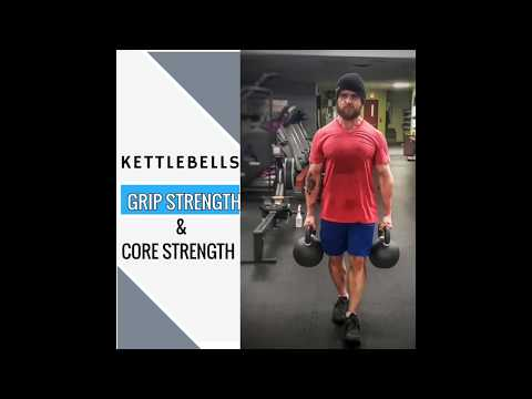 Loaded Carries | Performing a Farmer's Raise Kettlebell Workout |