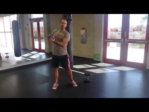 Kettlebell Swings with a Dumbbell, How To