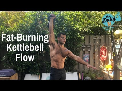 🔥FAT-FRYING KETTLEBELL FLOW! | BJ Gaddour Kettlebells Exercise