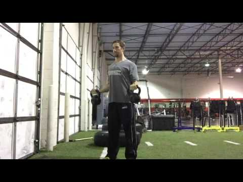 Standing Kettlebell Biceps Curl