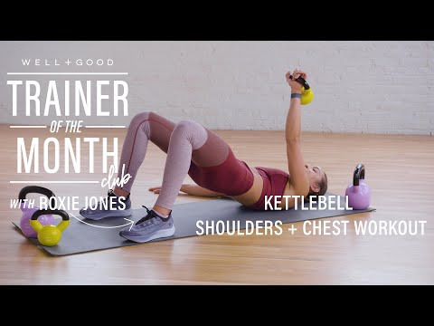 Kettlebell Shoulders + Chest Exercise | Trainer of the Month Membership | Effectively+Unprecedented