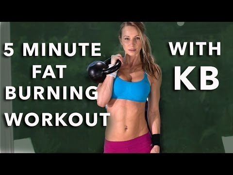 5 Minute Burly Burning Exclaim with Kettlebell #73