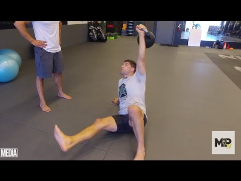 BJJ/MMA Hip & Core Energy- Turkish Rep-Up Kettlebell Enlighten  (Video 2 of three)