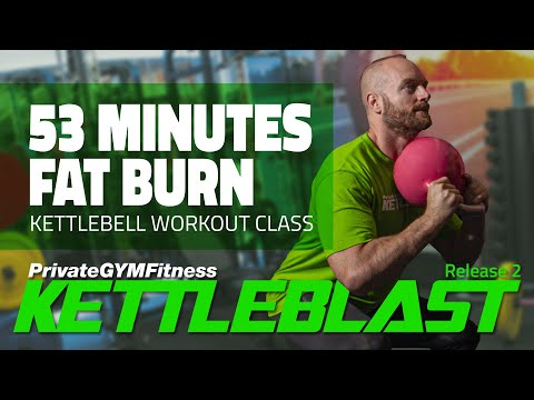 KETTLEBLAST Start 2 – Week 12, Day 1 | 💚 Kettlebell Workout Class