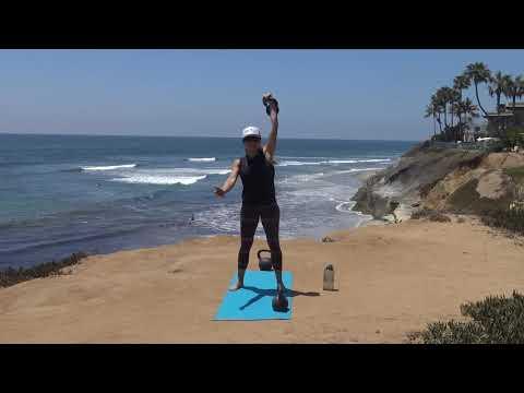 Summer Exercise – Single Bell Kettlebell Exercise
