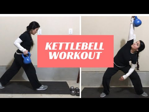 KETTLEBELL WORKOUT/FULL BODY/MUSCLE BUILDING/FAT LOSS WORKOUT