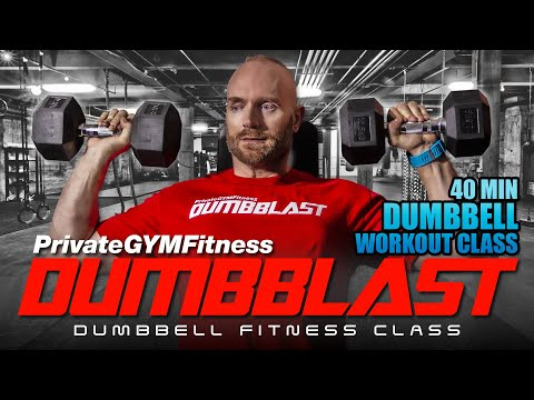 DUMBBLAST Launch 1 (Week 11, Day 2) – Chest & Assist Blood Quantity Practicing | 🔴 Dumbbell Class