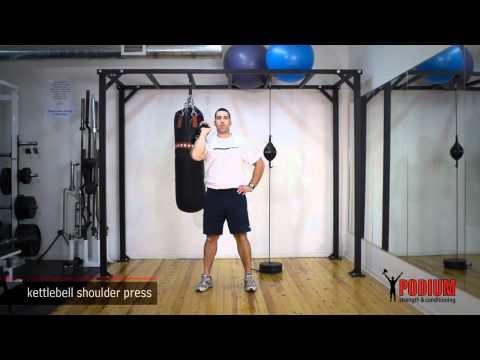 Kettlebell Shoulder Press