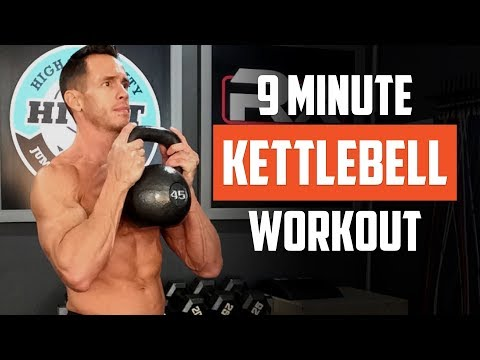 Kettlebell Exercise – 9 Minute AMRAP