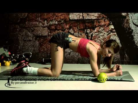 Estensioni dell'anca con kettlebell o palla comune – Terry Fitness