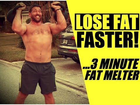 """Kettlebell """"Deconstruction Function"""" [3 Minute Total Body Fat-Loss Routine] 