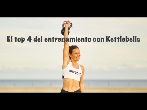 Los 4 mejores ejercicios del entrenamiento con Kettlebells