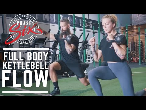 Half SiX Workouts: Fleshy Body Kettlebell Waft