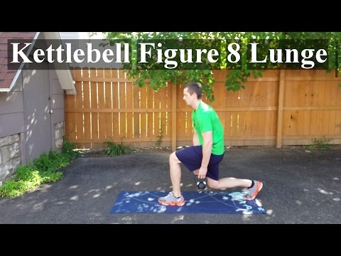 How To: Kettlebell Figure 8 / Threaded Lunge