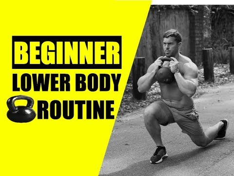 BEGINNER Lower Body Kettlebell Exercise | Chandler Marchman