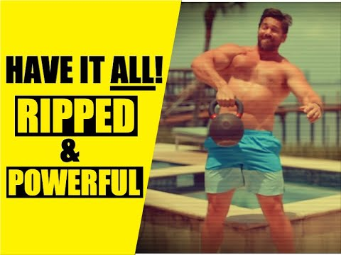 High Intensity Kettlebell Train to Plot Ripped Muscle & Energy | Chandler Marchman