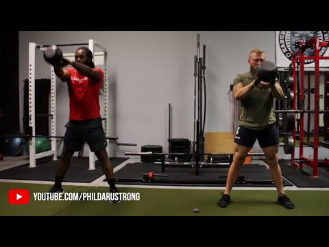 MMA Kettlebell Workout for Knockout and Vitality Patience feet Phil Daru