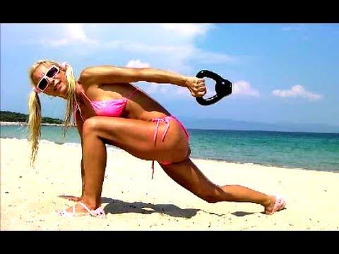 Kettlebell workout-  Hot Abs & Bum Workouts