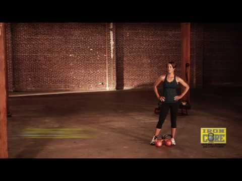 Iron Core Warrior with Sarah Lurie, RKC – 2 DVD Kettlebell Workout