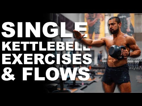 Kettlebell Single Workout routines & Flows Notify with Eric Leija