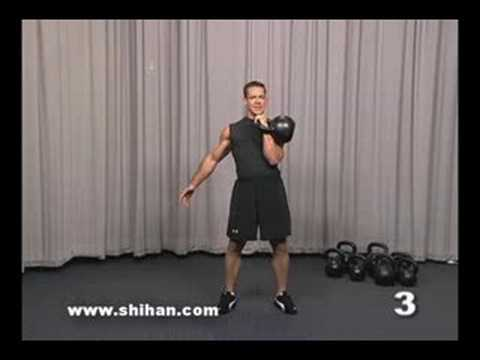 Steve Cotter Kettlebell Overhead Press Instructional Video