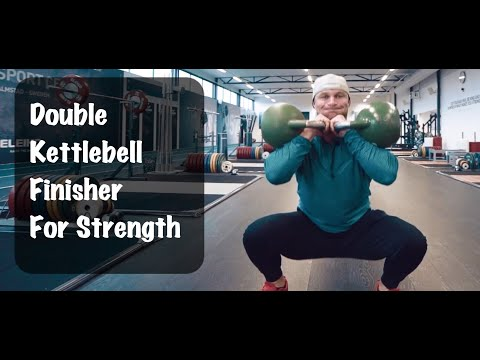 Double Kettlebell Finisher for Rising Strength