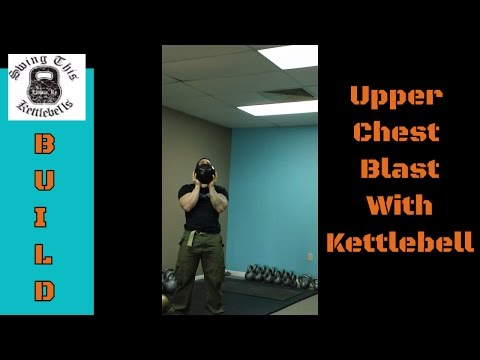 BUILD Your Better Chest With this Kettlebell Press Variation : Overhead Crush Press