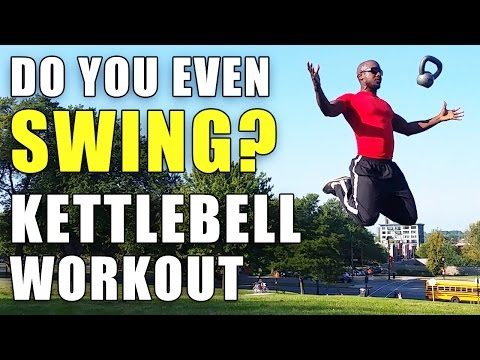 The Kettlebell Exercise – Construct you EVEN SWING?