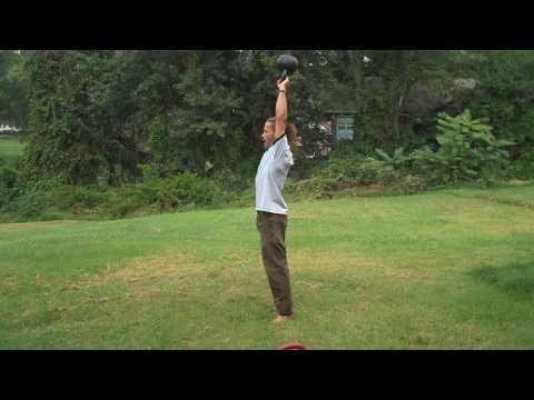 Kettlebell Workout, Practising Montage, Pavel Stejskal, DN RKC